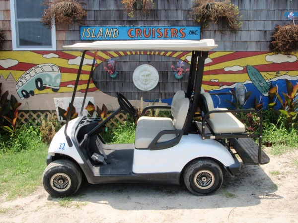Hatteras Island Cruisers Golf Car -Rentals